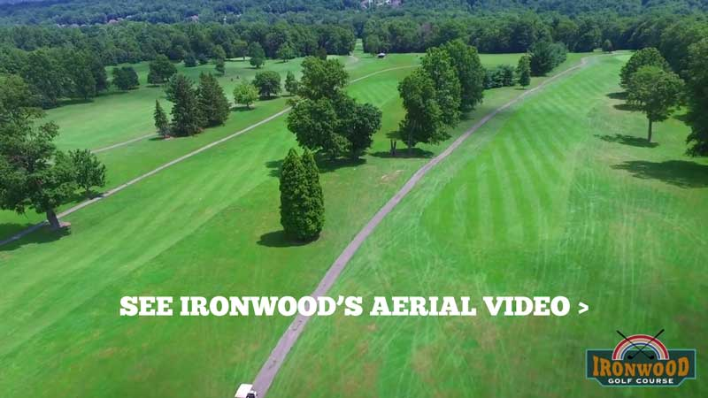 See Ironwood Golf Course from the air!